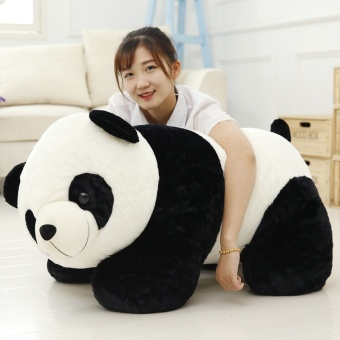 Panda Dolls Plush Toys Puppet Pillow Holding Bear Big Doll Valentine's Day Gift to Send His Girlfriend (40CM) - intl Price Philippines
