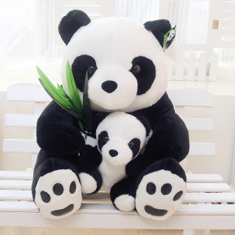 Panda dolls plush toys puppets pillow hold bear big doll doll birthday gift to send his girlfriend(12inches) - intl Price Philippines