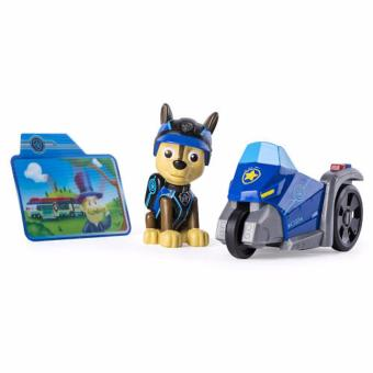 Paw Patrol Mini Vehicles with Figure - Chase's Three Wheeler - 2