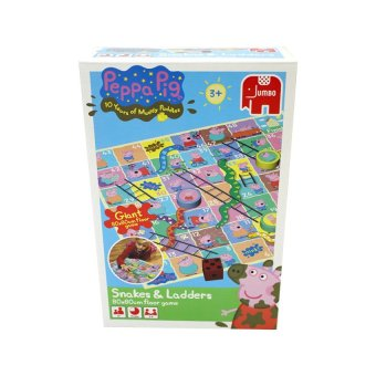 Peppa Pig Giant Snakes and Ladders Game
