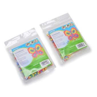 Perler Beads Pastel Butterfly Fused Bead Kit Pack of 2 - picture 2