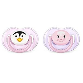 Philips AVENT BPA Free Animal Pacifier Pack of 2 (Style and ColorMay Vary)