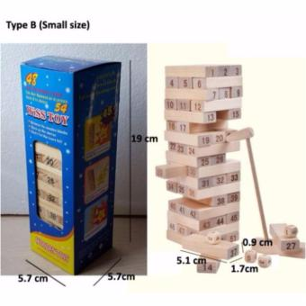 Phoebe's WISS Toy Wooden Plain Jenga (small) Price Philippines