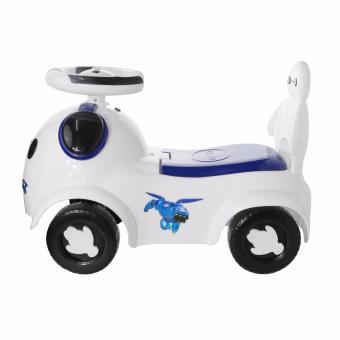 PhoenixHub Big Hero 6 Kid's Car Ride-on (Blue) - 3