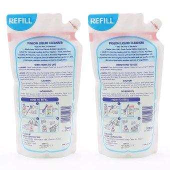 Pigeon Liquid Cleanser Refill Pack 700ml, Set of 2 - 2