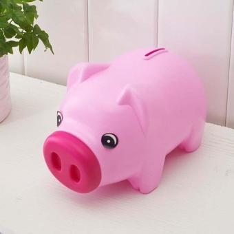 PIGGY BANK - Money Box For Saving Coins & Cash Fun Gift PlasticNovelty Pig Safe - intl - 4