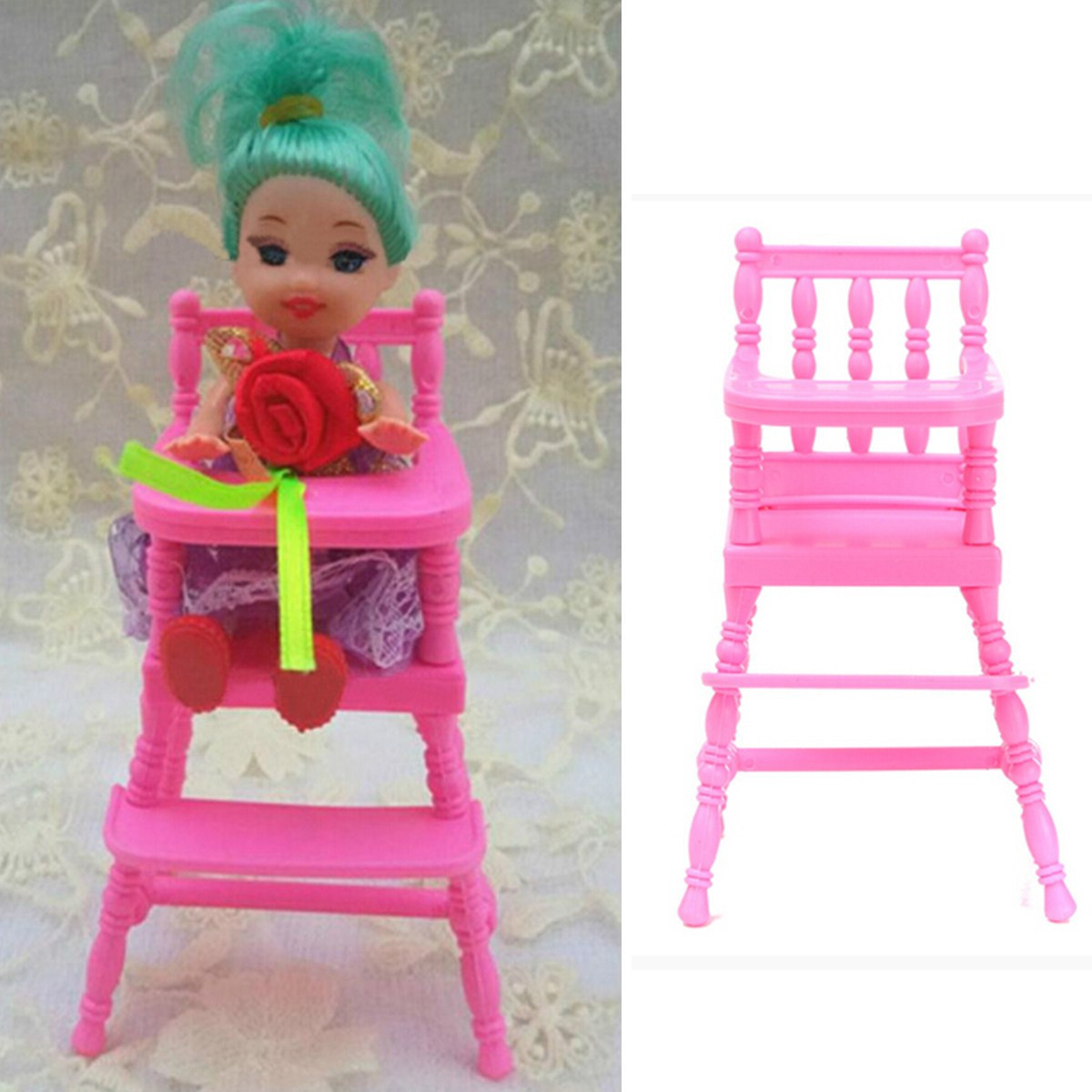 Philippines Pink Nursery Baby High Chair 1 6 Barbie Kelly Doll S