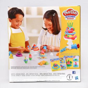 Play-Doh Kitchen Creations Frost In Fun Cakes - 3