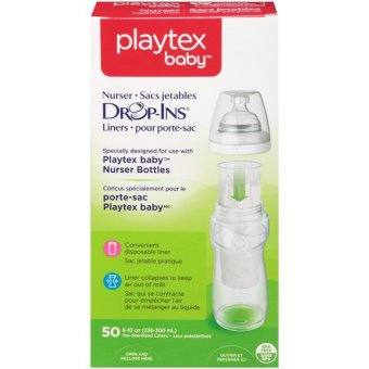 Playtex Nurser Bottles Drop-Ins Liners 8-10oz 50ct Price Philippines