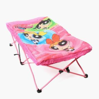 Power Puff Girls Folding Bed with Sleeping Bag