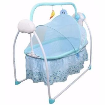 Primi Pretty in Blue Soothing Motions Baby Cradle Swing Price Philippines
