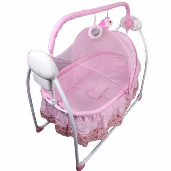 Primi Pretty in Pink Soothing Motions Baby Cradle Swing Price Philippines