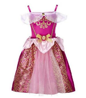Princess Dress Children Clothing Girl's Dress Lavender - 5