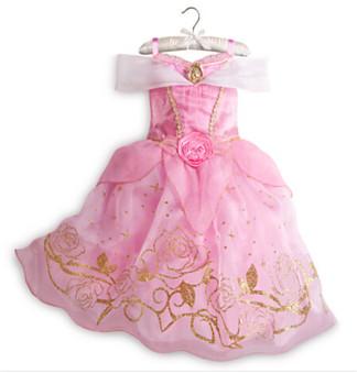 Princess Dress Children Clothing Girl's Dress Lavender - 2