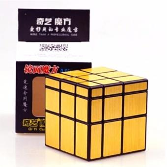 QiYi Mirror Gold 3x3x3 Speed Rubik's Cube - 2