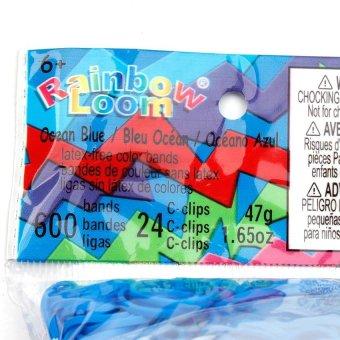 Rainbow Loom Refill (Ocean Blue Opaque) - 2