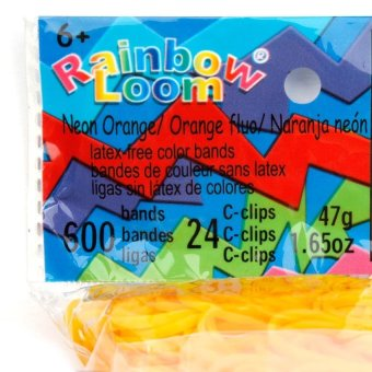 Rainbow Loom Refill (Yellow Opaque) - picture 2