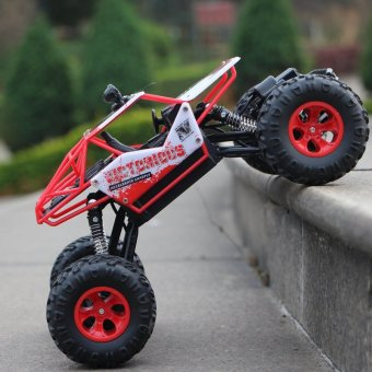 RC Car 4CH Bigfoot Car Cross Country Racing Car High-speed DriftModel Off-Road Vehicle Monster Truck Toy - intl Price Philippines