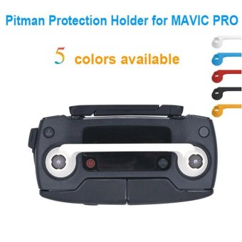 Remote Controller Dual Connected Rocker Protector Joystick Fixator Pitman Protection Holder Bracket for DJI Mavic Pro Drone, Red - intl - 2