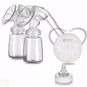 RH228 Mother Manual Double Electric Breast Pump (White) Price Philippines