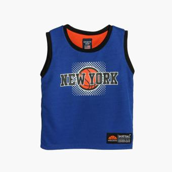Rookie Boys New York Reversible Jersey Shorts Set (Blue) - 2