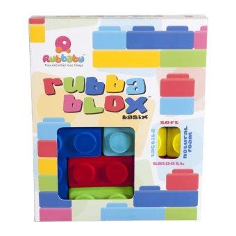 Rubbabu Rubbablox Basix Set (Multicolor) - picture 2