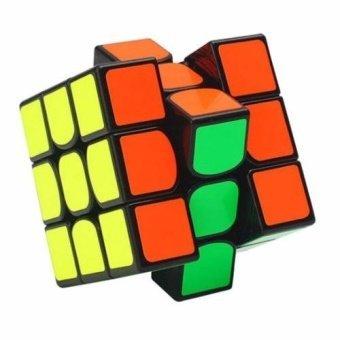Rubik's Cube - QiYi 3x3x3 The Valk 3 PVC (Black) - intl - 3