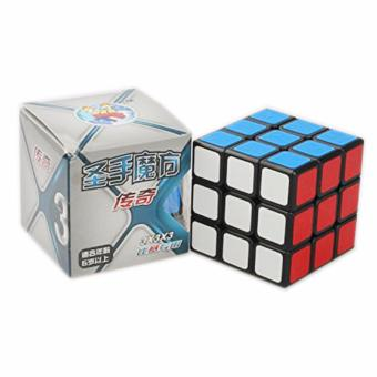 Rubik's Shengshou Legend Magic Speed Cube 3x3x3 Puzzles 7133A-3/4Black Body