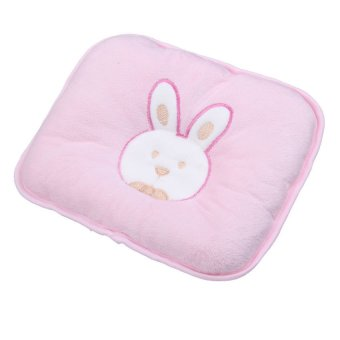 S & F Lovely Soft Infant Baby Pillow Bunny Head Shape Seven-hollow Fibre (Pink) (Intl) - picture 2