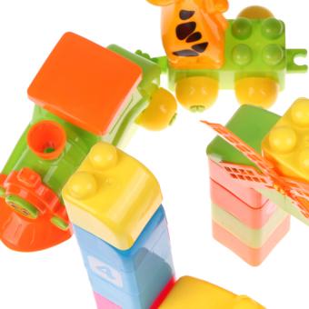 S & F 43 Pcs Children Kids Creative Puzzle Educational Building Blocks Bricks Toy (Intl) - picture 2