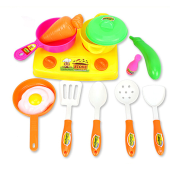 S & F Plastic Kitchen Cookware Set Toy - Intl