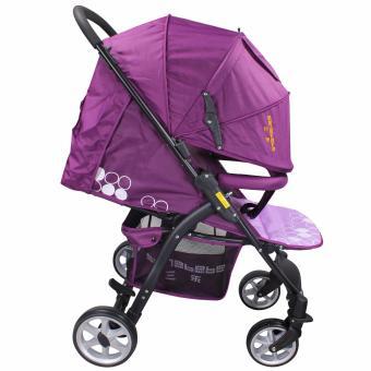 Sanebebe SL-460 Baby Umbrella Style Stroller (Violet) - 3