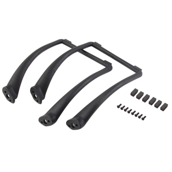 Sanwood Tall Landing Skid Gear for DJI Phantom 1 2 Vision Wide and High Extend Ground Clearance (Black)