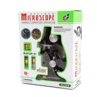 Science and Technology Microscope Set Children 's Science ToExplore Early Education Puzzle Toys Convenient Children 's StudentScience Experiment - intl - 5