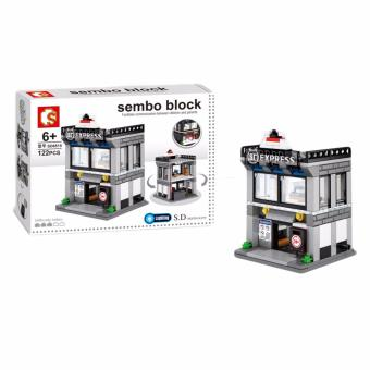 Sembo Block SD6515 SF Express Building Blocks