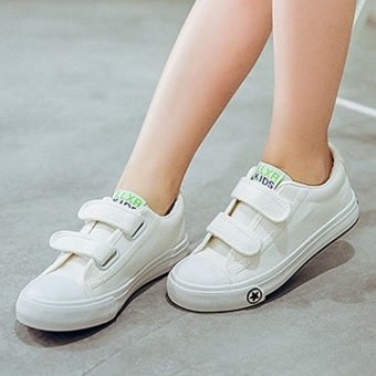 Sixty-one girls magic stickers I will boy's canvas shoes BayMini shoes