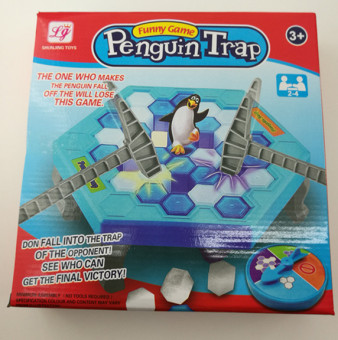 Sixty-one penguin table toys to save the ice cubes