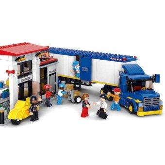 Sluban Town - Heavy Duty Van Truck - 3