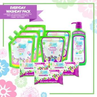 Smart Steps Everyday Washday Starter Pack- Powder Detergent