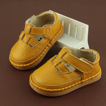 Soft bottom female Spring and Autumn shoes leather Baby Shoes