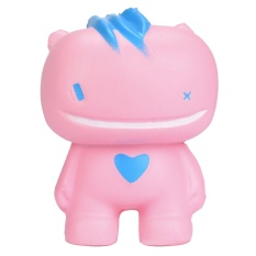 Home Decoration Sample Model Random Color Intl PHP 387 Soft Squishy Cute Kawaii Pink Smiling Toy