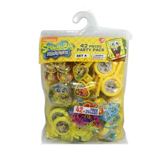 Spongebob SquarePants Party Pack Set A