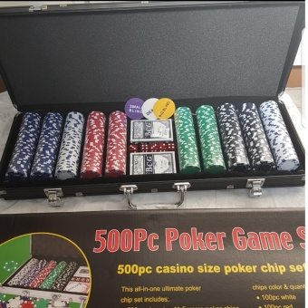 Sports In Style Poker Game Poker Chips Set 500pcs Price Philippines