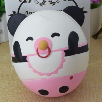 Squishy Jumbo Panda doll slow rising (height 16.5cm) PU soft toy - intl