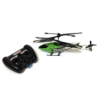 SS368A Rechargeable 2CH Infrared Remote Control Helicopter(Green)