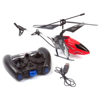 SS368A Rechargeable 2CH Infrared Remote Control Helicopter(Red)