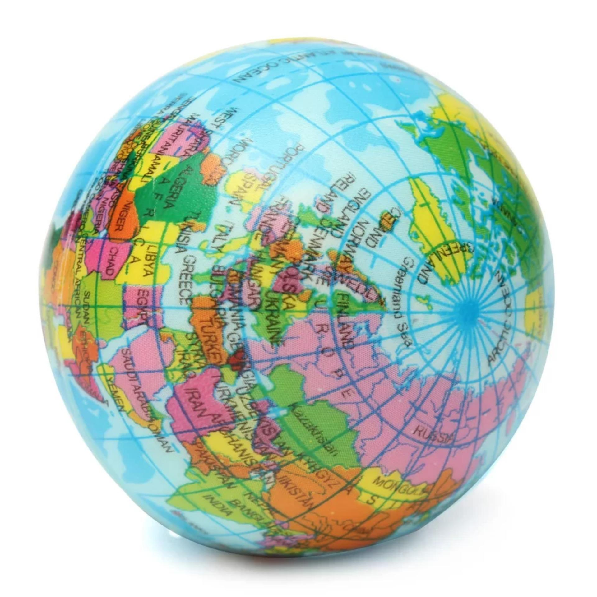 Philippines stress ball earth globe world map foam stress relief stress ball earth globe world map foam stress relief press ballgeography study tool toy gumiabroncs Choice Image