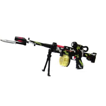 Submachine Super Electrical Gun 62.5cm (Black)