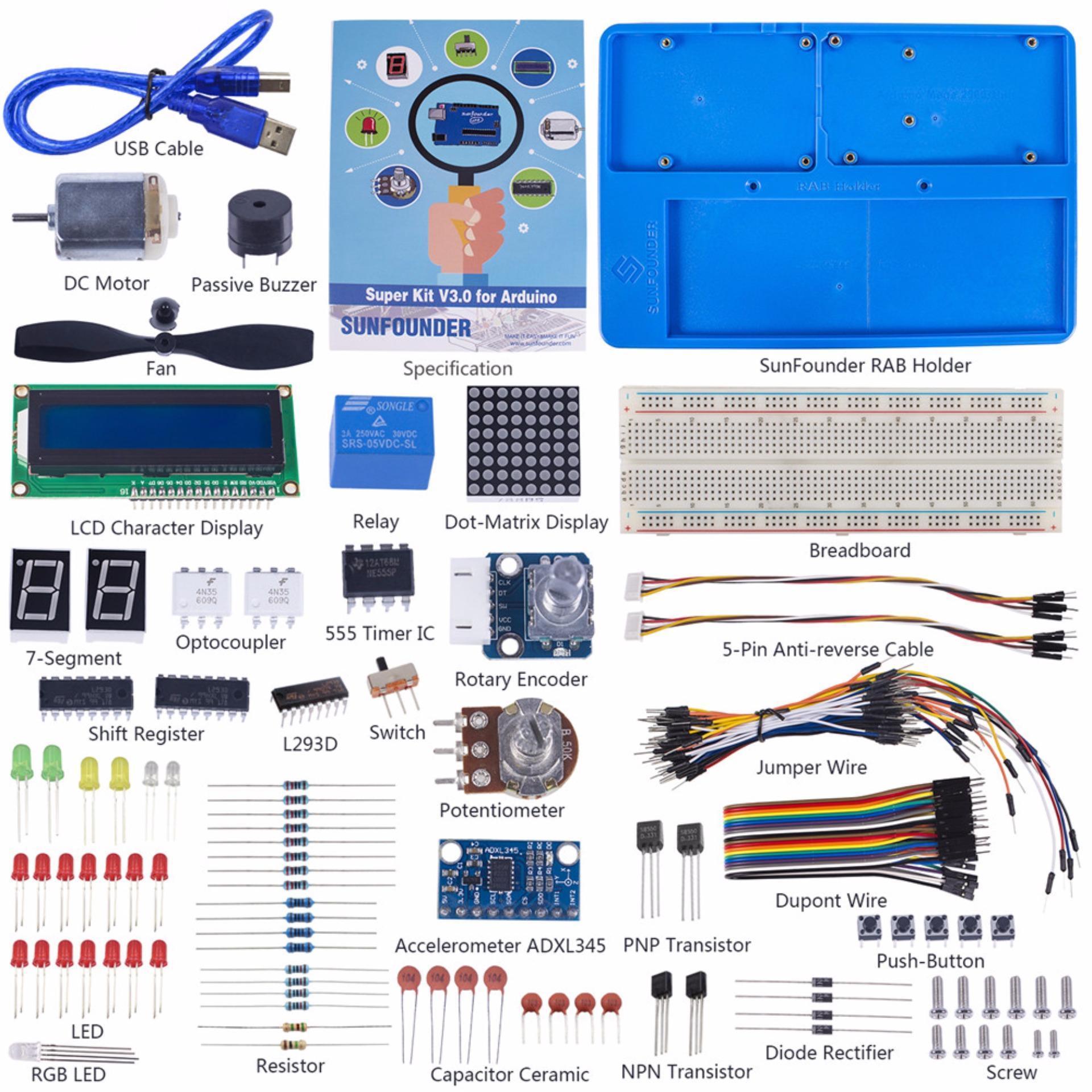 Philippines   SunFounder Project Super Starter Kit V3 0 with