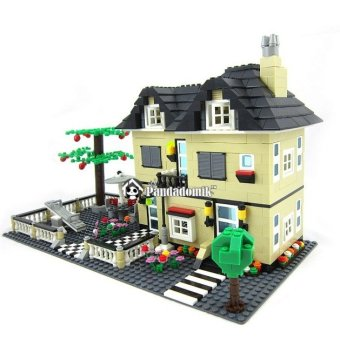 Super Large Villa 816 Pcs Building Blocks Compatible with lego DollHouse Models Building Bricks Toys Learning Education